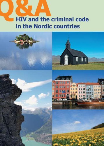 HIV and the criminal code in the Nordic countries - HivNorge