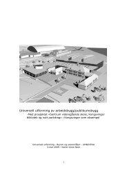 arbeidsbygg-publikumsbygg - Universell Utforming
