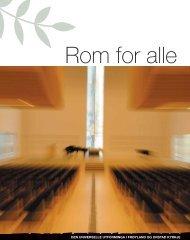 Rom for alle - Universell Utforming