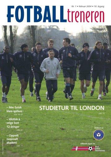 STUDIETUR TIL LONDON - trenerforeningen.net