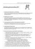 Jahreshauptversammlung 2011 - Nahkampfzentrum Niedernhall - Page 2