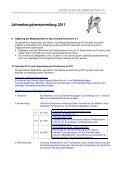 Jahreshauptversammlung 2011 - Nahkampfzentrum Niedernhall - Page 5
