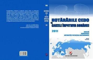 CEDO VOL VII civil 2011.pmd - Hotărâri CEDO
