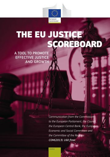 The eU JUsTice scoreboard - European Commission - Europa