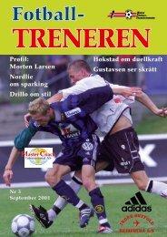 Fotballtreneren 3, 2001 - trenerforeningen.net