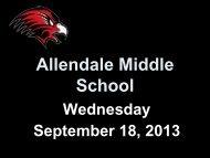 Allendale Middle School - Allendale Public Schools