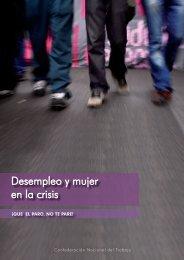 Desempleo y mujer en la crisis - CNT