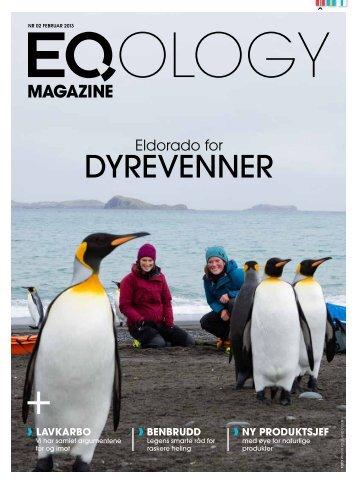 DYREVENNER - Eqology