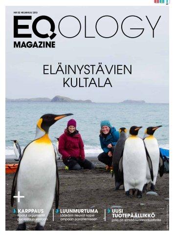 eq magazine helmikuu - Eqology