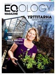 eq magazine kesä - Eqology