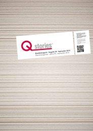 Qstories - Kundenmagazin September 2014