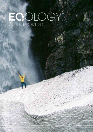 Årsrapport 2011 - Eqology.com