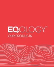 our products - Eqology