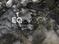 First Look - Eqology