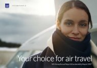 Your choice for air travel - SAS