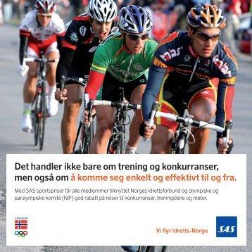 Det handler ikke bare om trening og konkurranser, men også ... - SAS
