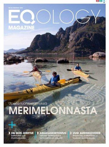 eq magazine kesäkuu - Eqology