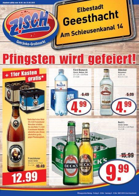 Zisch Geesthacht Angebote KW21/2015