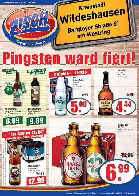 Zisch Wildeshausen Angebote KW21/2015