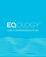 our compensation plan - Eqology