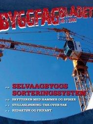 Byggfagbladet 1 2009