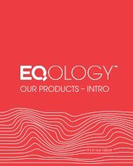 our products – intro - Eqology