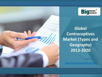 Global Research report on Contraceptives Market (Types and Geography) 2013-2020