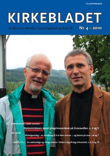 Kirkebladet nr 4 2010 - Kirken i Gran