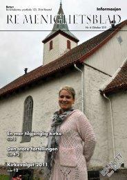 Nr. 6 2011 - Re kirkelige fellesråd - Den norske kirke