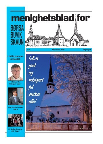 Menighetsblad nr 5 - Skaun kirkelige - Den norske kirke