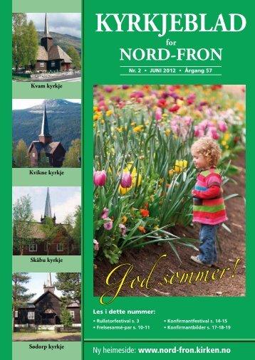 KYRKJEBLAD - Kirkene i Nord-Fron - Den norske kirke
