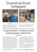 KYRKJEBLAD - Kirkene i Nord-Fron - Den norske kirke - Page 5