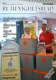 Nr. 5 2011 - Re kirkelige fellesråd - Den norske kirke