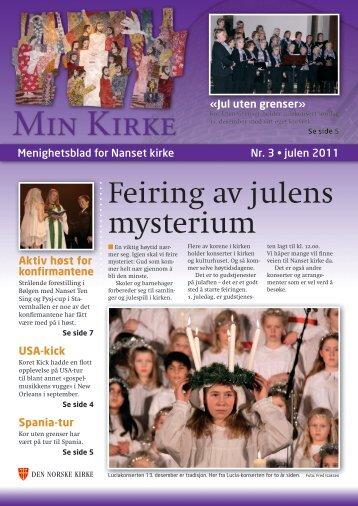 Min kirke 3- 2011 - Larvik kirkelige fellesråd