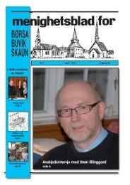 Menighetsblad nr 2 - 2011 - Skaun kirkelige