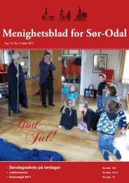 Menighetsblad for Sør-Odal - Sør-Odal kirkelige fellesråd - Den ...
