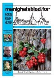 Menighetsblad nr 4 - Skaun kirkelige - Den norske kirke