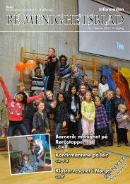 Nr. 1 2013 - Re kirkelige fellesråd - Den norske kirke
