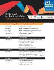 Programa PRODEM 5ST Chile