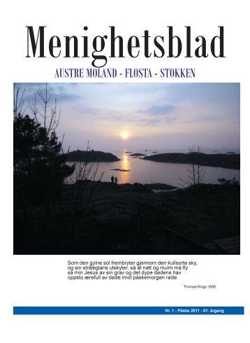 Menighetsblad for Austre Moland, Flosta og Stokken nr. 1 ... - Arendal