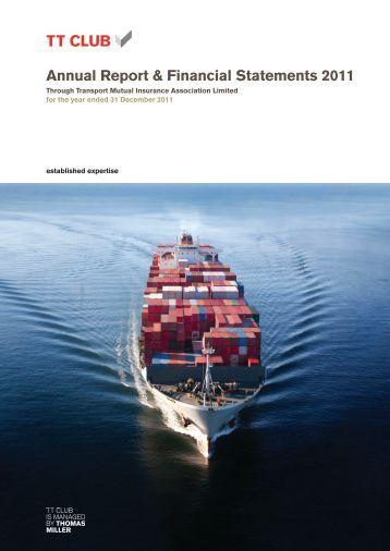 Annual Report & Financial Statements 2011 - TT Club