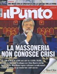 Il PUNTO. Intervista a Gustavo Raffi del 4 giugno 2010