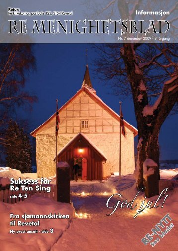 Nr.7 2009 - Re kirkelige fellesråd - Den norske kirke