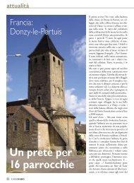 attualità Un prete per 16 parrocchie - Stimmatini