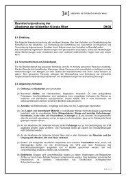 Brandschutzordnung0908 .pdf - Akademie der bildenden Künste Wien