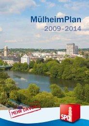 Mülheim Plan 2009 - 2014 - SPD-Fraktion im Rat der Stadt Mülheim ...