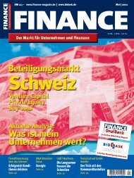 Finance - Mai 2001 - Klein & Coll.