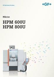 HPM 600U HPM 800U DE