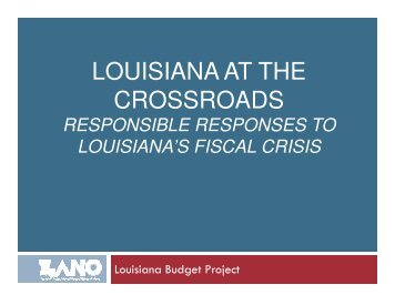 Presentation at Healthcare Coalition meeting in Baton Rouge ...