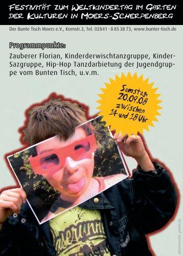 Zauberer Florian, Kinderderwischtanzgruppe, Kinder
